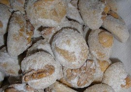 Ořechové miňonky  cukroví recept