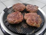 Burger na kokosovém uhlí recept