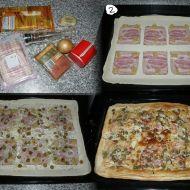 Syrečková pizza z listového těsta recept