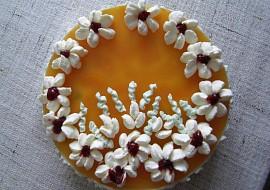 Tvarohový dort  nepečený recept