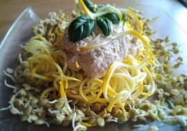 RAW rychlé cuketové špagety recept