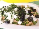 Sójovo-hráškový salát recept
