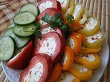 Plněná paprika na studené pohoštění recept