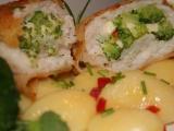 Pangas plněný brokolicovo-sýrovou nádivkou recept