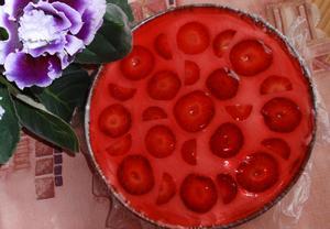 Jahoďák  jahodový dort