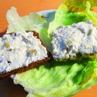 Dietní pikantní tvarohová pomazánka s bylinkami recept