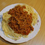 Maso na špagety recept