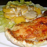Kuřecí stehna na šlehačce recept