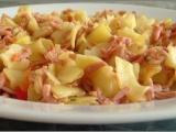 Těstoviny s kuřecí mortadellou recept