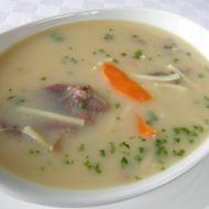 Drožďová polévka s drůbežími droby recept