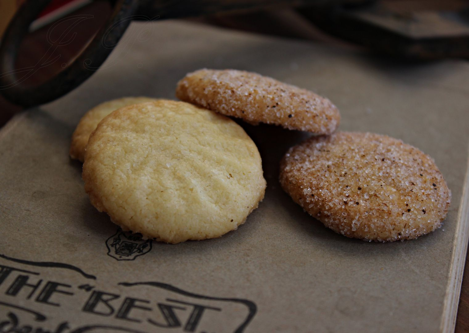 Jednoduché máslové sušenky recept