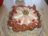 Slaný dortík recept