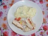 Kuřecí roláda plněná recept