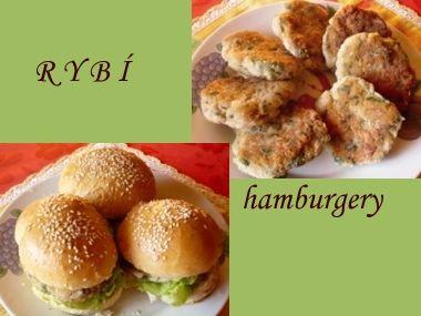 Dva naše recepty na rybí hamburgery