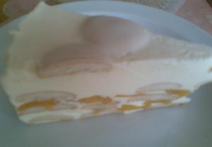 Tvarohový želatinový dort