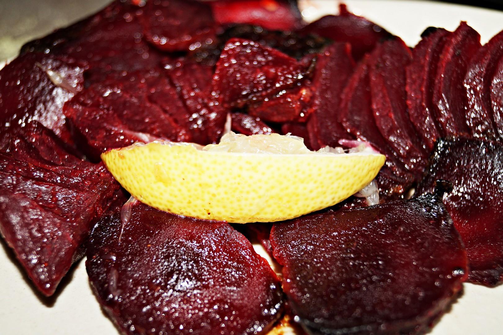 Marinovaná červená řepa z trouby recept