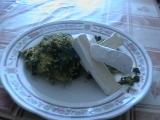 Zelený čtvrtek s jáhlami recept