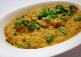 Houbová masala s jarní cibulkou recept