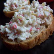 Bramborovo-krabí salát recept
