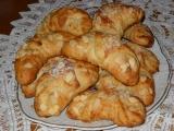 Croissanty s mandlemi recept