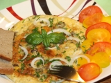 Vaječná omeleta s hlívou recept