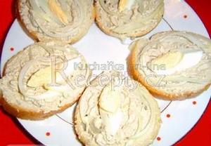 Sardelové chlebíčky