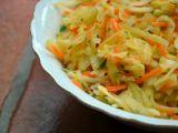 Orientální zelný salát recept