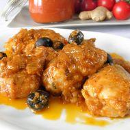 Kuřecí s rajčatovou omáčkou a olivami recept