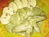 Kuřecí křídla v brokolicové omáčce recept