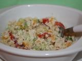Kuskusový salát se zeleninou a medovým dresingem recept ...