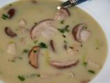 Jemná polévka s chutí pečených brambor recept