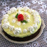 Oříškový dort s čokoládou recept