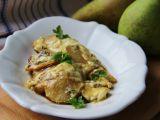 Kuřecí gratinované s hruškou, celerem a nivou recept