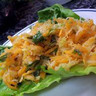 Mrkvovo-kedlubnový salát recept