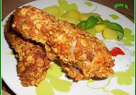 Kuřecí paličky corn flakes recept