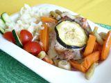 Vepřový plátek na zelenině s kapary recept