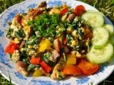 Zeleninová vajíčka recept
