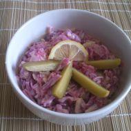 Zelný salát po hanácku recept