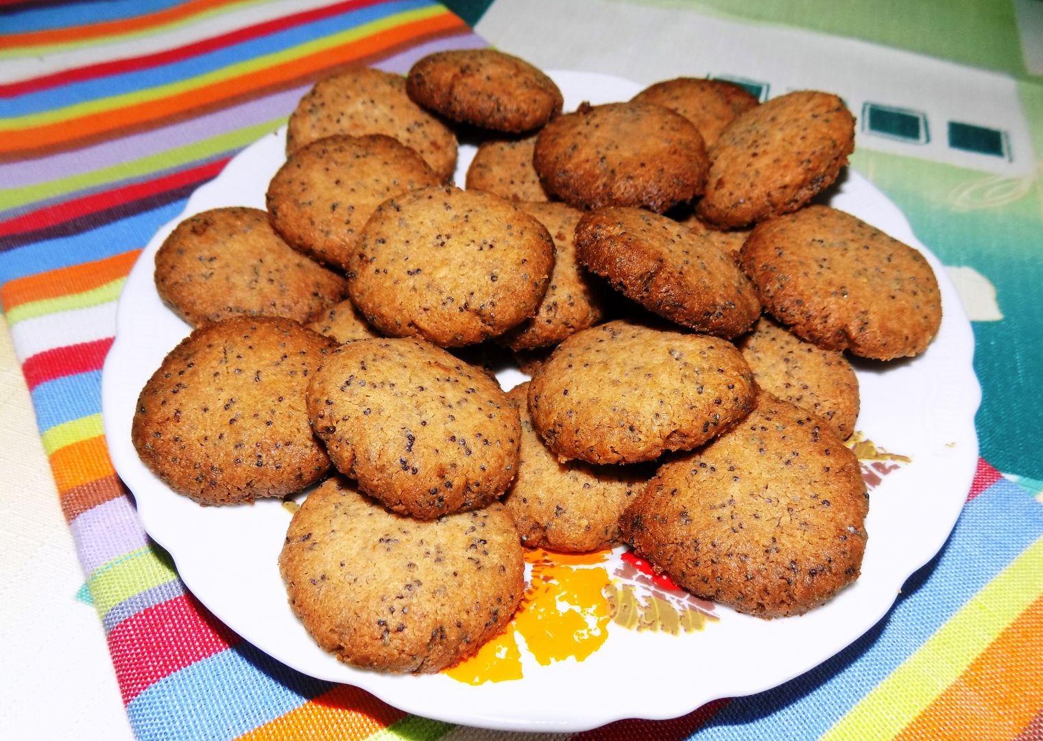 Makové sušenky s javorovým sirupem recept
