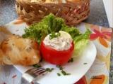 Rajčata s náplní z uzené makrely recept