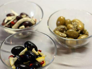 Olivové tapas