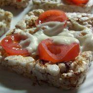 Chlebíčky zapékané s rajčaty recept
