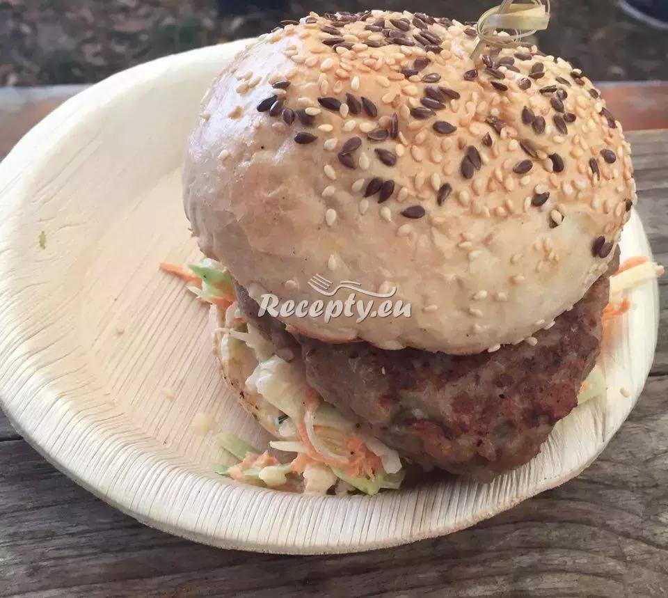 Domácí kapří hamburger recept  ryby