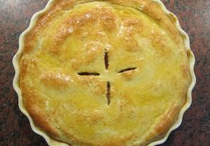 Apple pie  anglický jablkový koláč