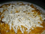 Těstoviny s dýňovou omáčkou a sýrem recept