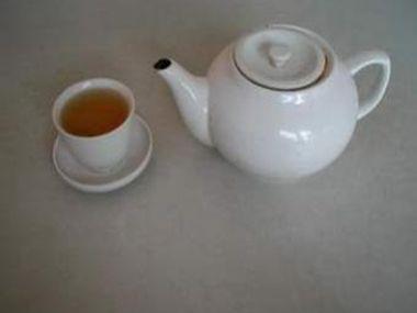 Zelený zázvorový čaj