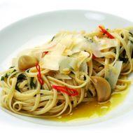 Špagety Aglio olio, peperoncino recept