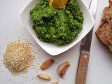 Špenátový hummus recept