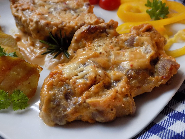 Krkovička pečená ve steakové hořčici recept