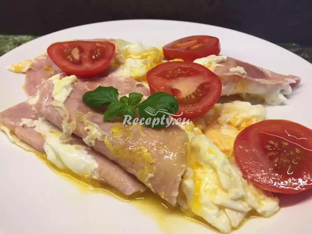 Italská sázená vejce recept  jídla z vajec